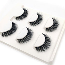 3 Pairs natural false eyelashes | Foofster LLC