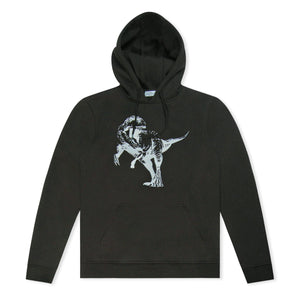 Untitled Atelier Embroided Dinosaur Hoodie