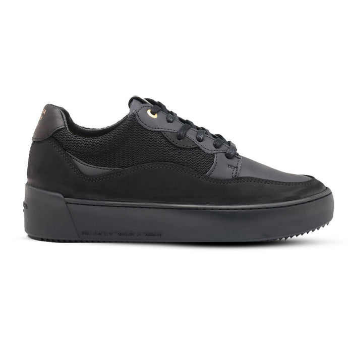 Black Android Homme Omega Low Trainers