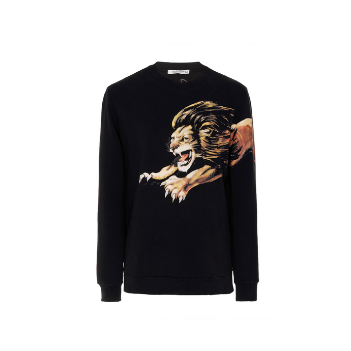 Black Givenchy Lion Print Sweatshirt