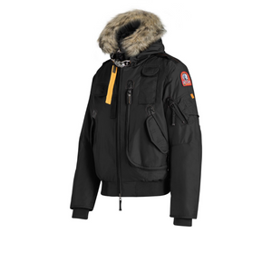 Black Parajumpers Gobi Man Coat