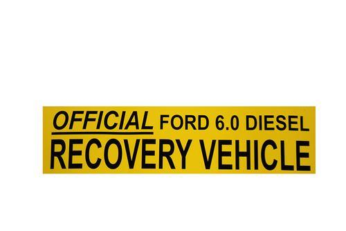 Handpicked Trucks Bumper Sticker | Official 6.0 Recovery Vehicle