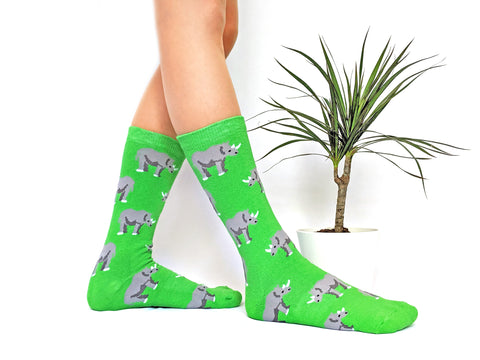 White Rhino Socks