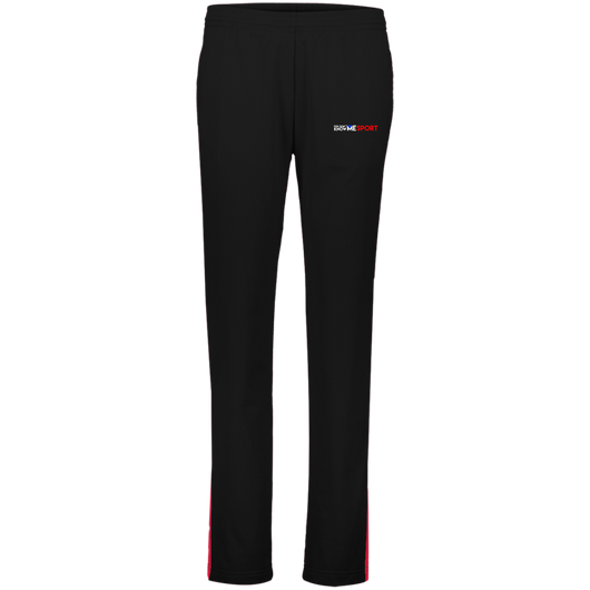 YDKM Logo (red) - Ladies' Performance Colorblock Pants