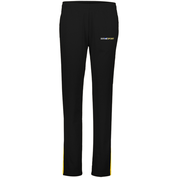 YDKM Logo (gold) - Ladies' Performance Colorblock Pants