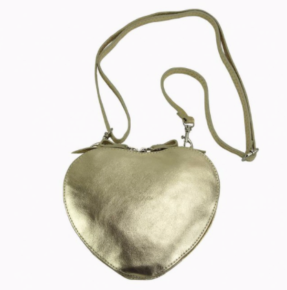 Cuore Golden Shoulder Bag