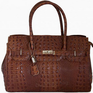 Gloria Brown Tote