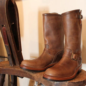 Engineer Leather Boots