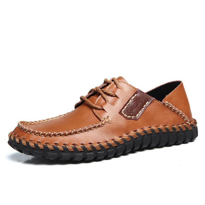 Genuine Leather  Outdoor Business Casual Shoes