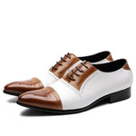 Italian Calfskin Leather Slip On Dress Shoes