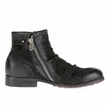 Men Leather Zip Short Boots