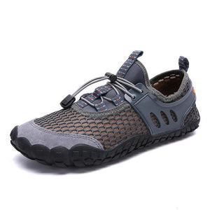 Large Size Mesh Breathable Outdoor Casual Shoes