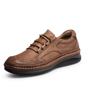 Large Size Genuine Leather Handmade Casual Shoes