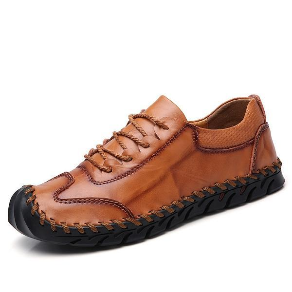 Genuine Leather Handmade Outdoor Business Casual Shoes