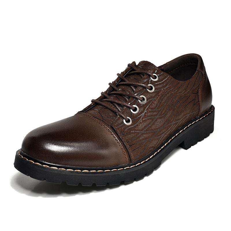 Men's Leather Casual Dress Shoes