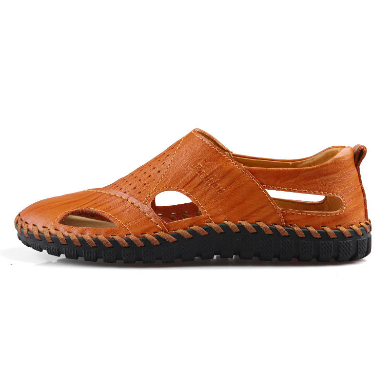 Men Summer Beach Soft Flat Sandal