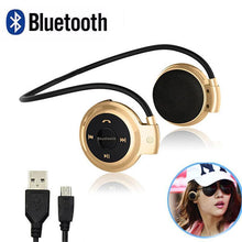 Load image into Gallery viewer, Mini 503 Wireless Bluetooth Stereo Headphones Portable Neckband Headset