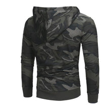 Load image into Gallery viewer, Casual Outdoor Fashion Slim Camouflage Long Sleeve Men Hoodie