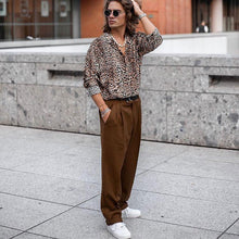 Load image into Gallery viewer, Sexy Leopard Printed Loose Button Shirt