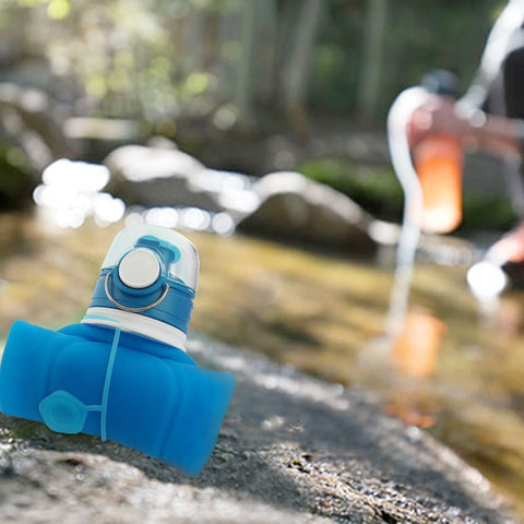 OUTDOORS COLLAPSIBLE WATER BOTTLE