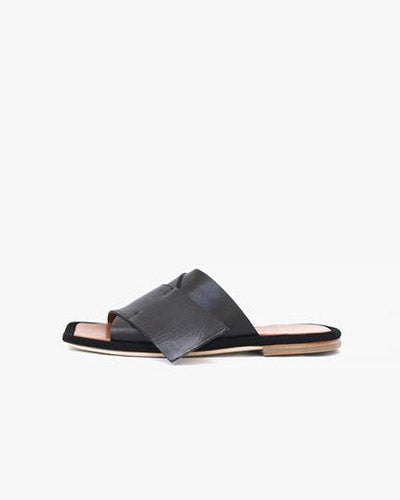 Dara Sandals Leather Black