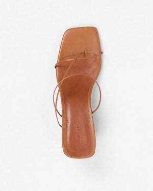 Harley Sandals Leather Walnut Brown