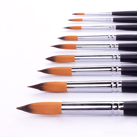quality Paint Brushes 9 Pack