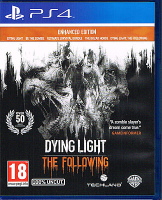PS4 - Dying Light The Following Enhanced Edition uncut (AT-PEGI)