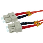 OM1 SC-SC Duplex Multimode 62.5/125 Fiber Optic Cable