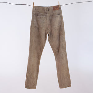 S01 Hemp Jeans - Ironbark Dyed