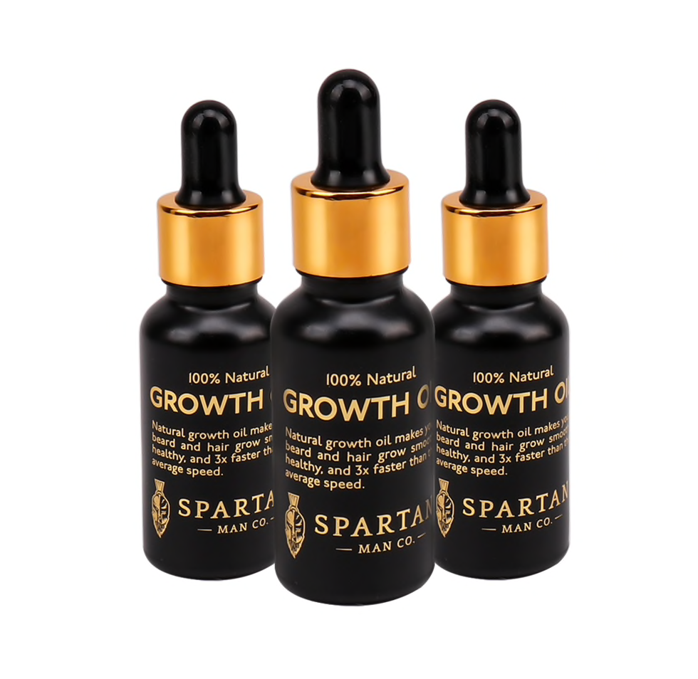 Beard Growth Oil By Spartan Man Co.