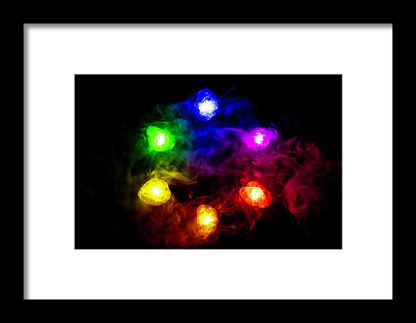 Infinity Stones Poster - Style 1 - Framed Print