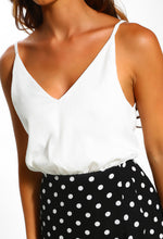 White Cami Dress - Detail View