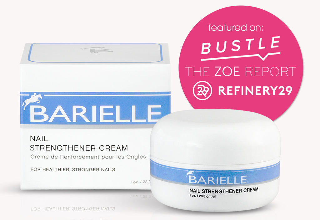 Barielle's Nail Strengthener Cream, featured in Refinery 29, Bustle, Zoe Report and Kloé Kardashian's official app, is the miracle product used to improve the health and vitality of women's and men's nails.