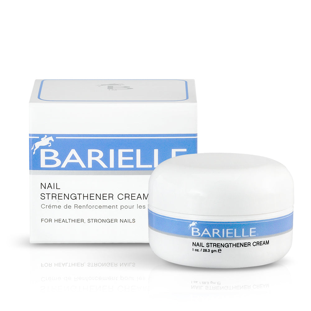 Barielle Nail Strengthener Cream helps grow stronger, healthier nails and prevent splits, breaks, peeling and ridges.