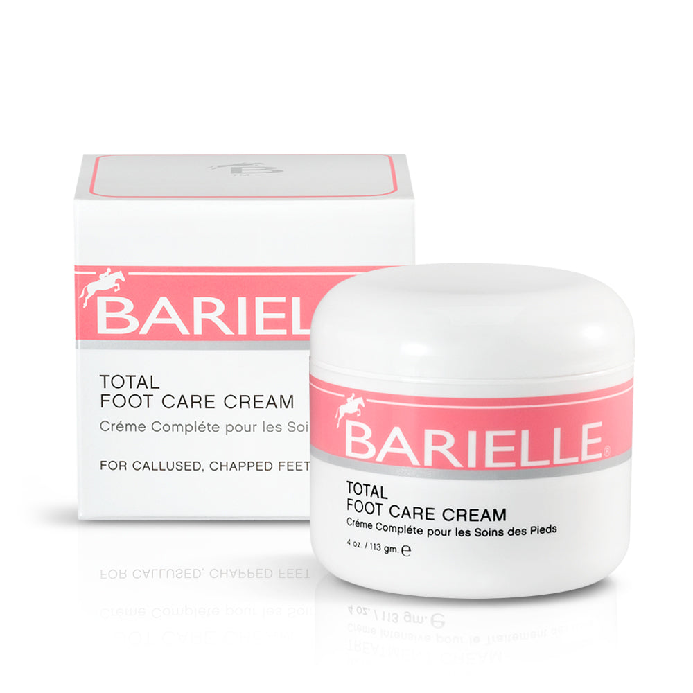 Barielle Total Foot Care Cream repairs dry, calloused feet for sandal-ready feet you'll love.