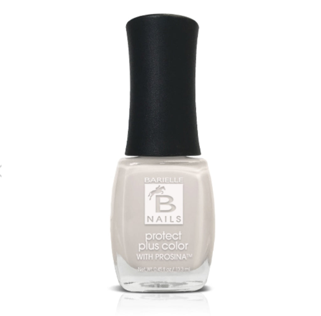 Barielle Protect+ Nail Polish - Go Lightly (Opaque Eggshell White) .45 oz. - Barielle - America's Original Nail Treatment Brand