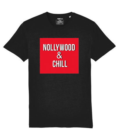 NollyWood & Chill TShirt CoolAfricanMerch