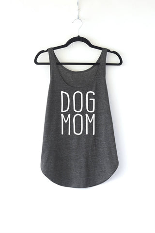 Dog Mom Ladies Tank Top