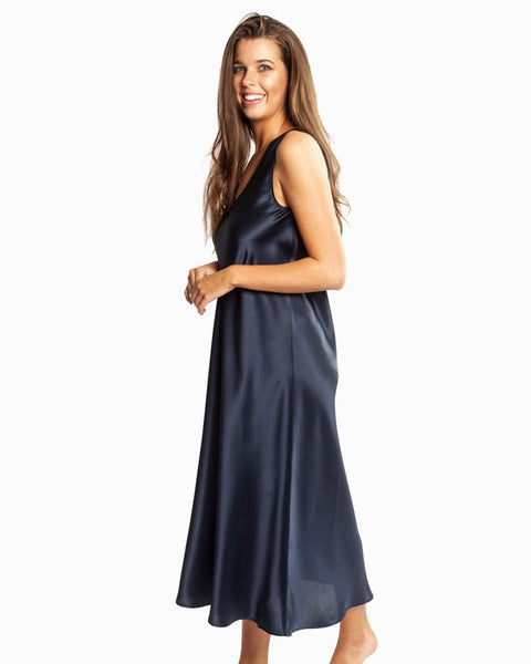 Love&Lustre - Mono Silk Long Nightdress