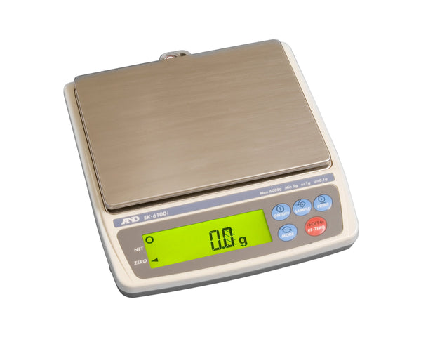 EK-6100i A&D Precision Balance for Weighing Jewellery (Class II) 6000g x 0.1g