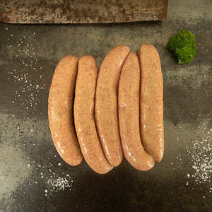 Curried Goat Sausages