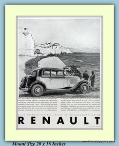 Renault Original French Advert 1931 (ref AD9199)