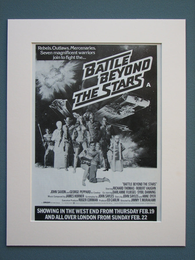 Battle Beyond The Stars Original Advert 1980 (ref AD593)