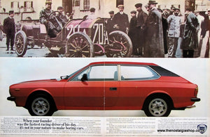Lancia HPE 1981 Original Advert (ref AD11679)