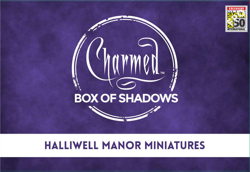 SDCC 2019: CHARMED HALLIWELL MANOR MINIATURES EXCLUSIVE SET (NON-ATTENDEE)