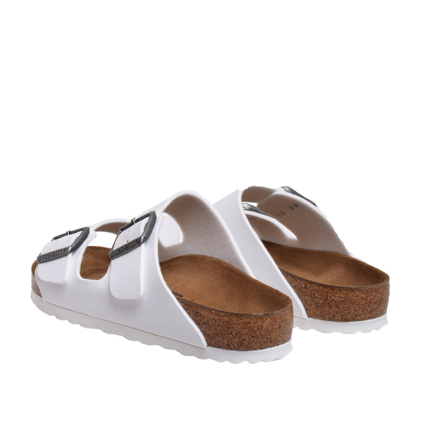 Arizona Birko-flor Sandal - White