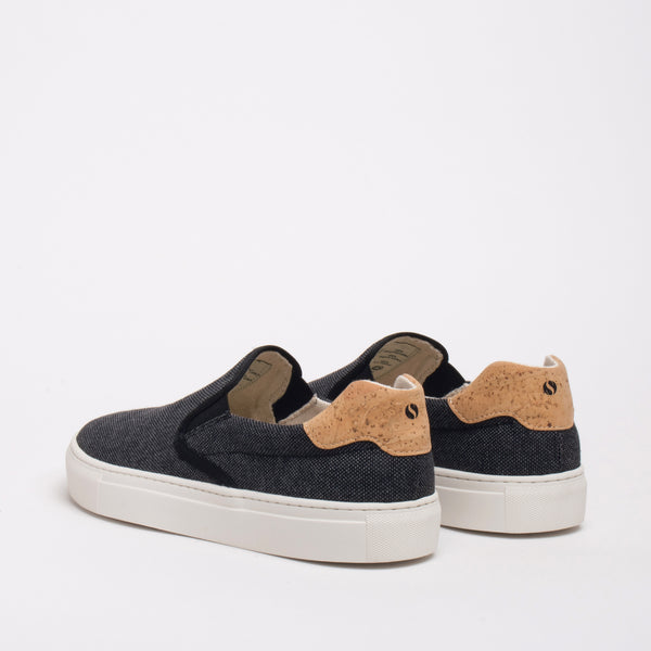 Greenpoint Sustainable Slip-on Sneaker - Coal