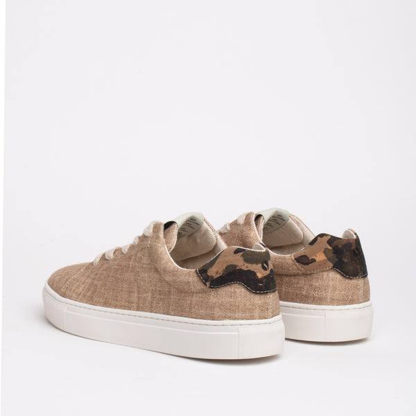 Stillwell Sustainable Lace Sneaker - Oat