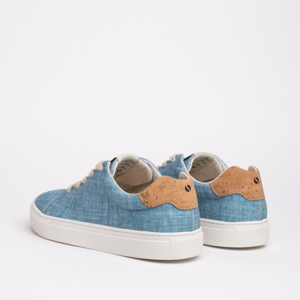 Stillwell Sustainable Lace Sneaker - Sky